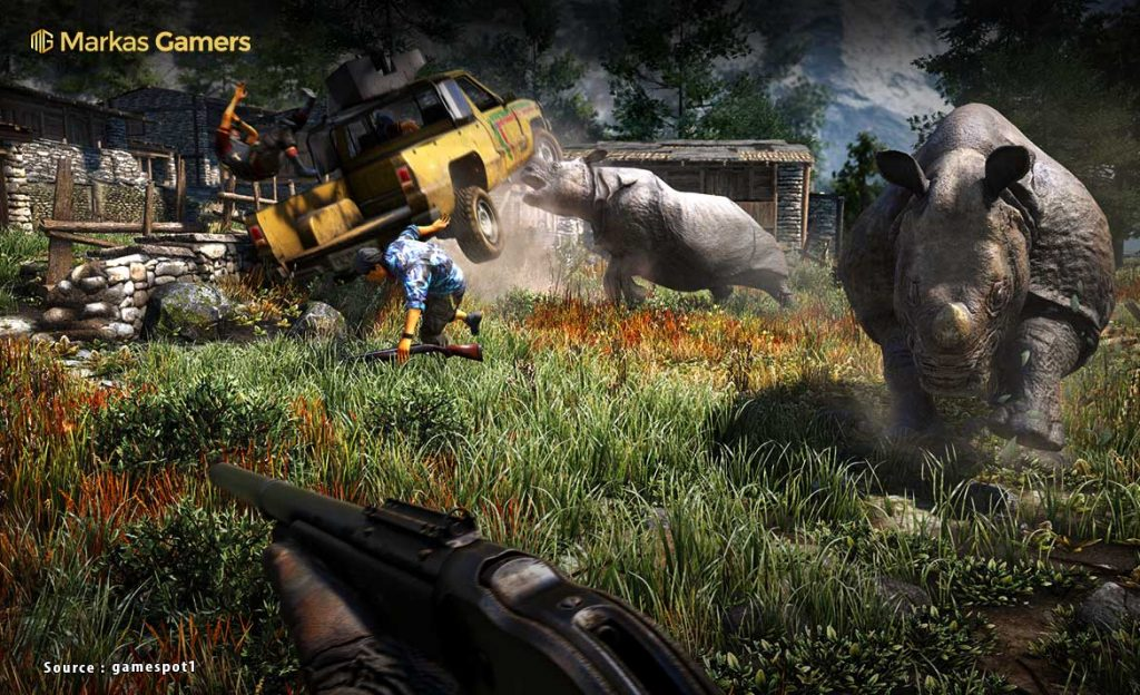Animals in Far Cry 4