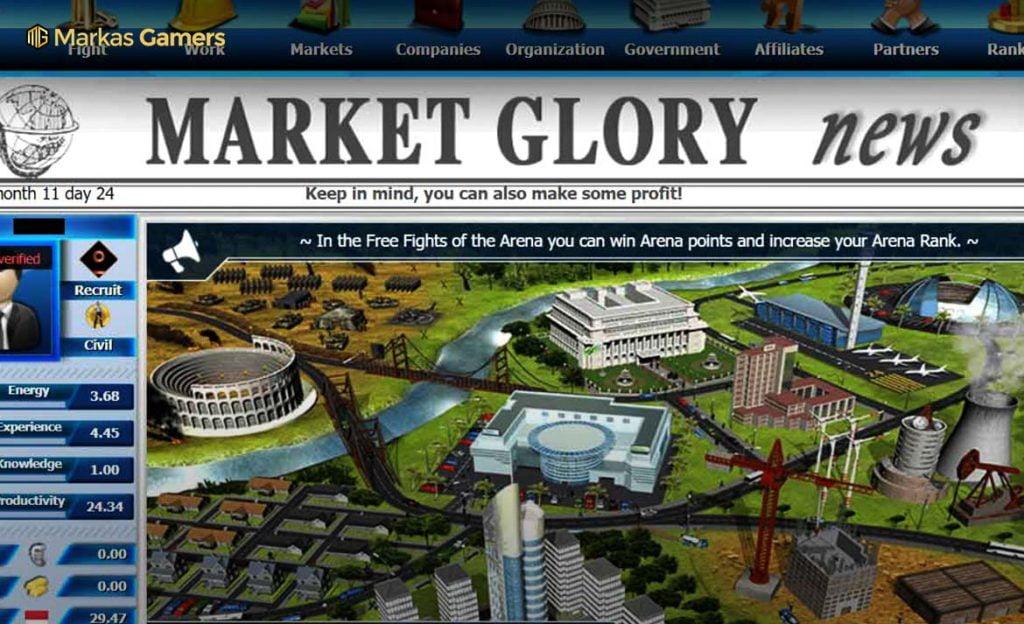 market online game