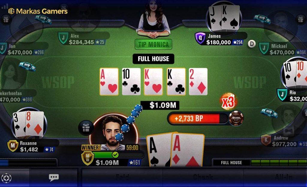 Wsop poker