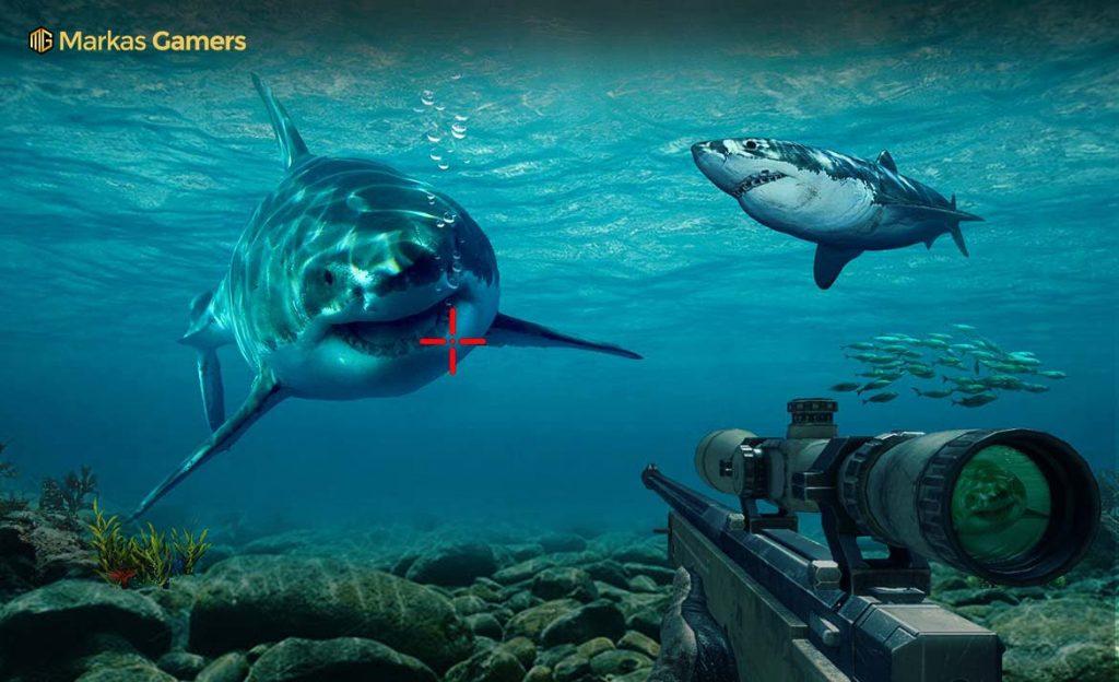 sniper hunter tembak ikan
