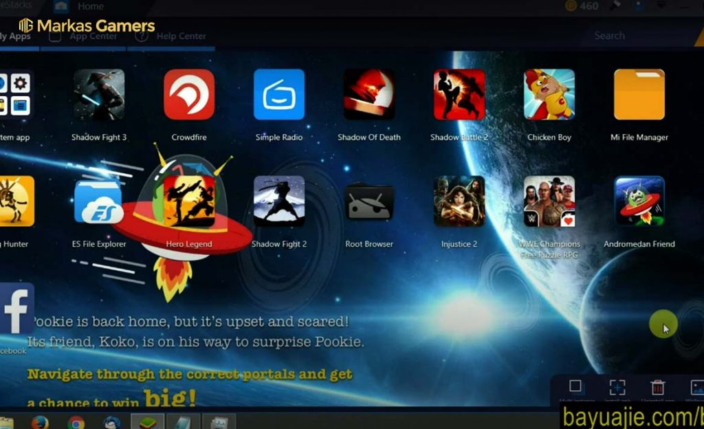 game bluestack android emulator pc