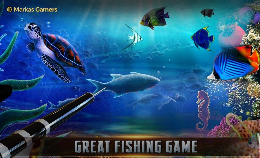 scuba game ikan
