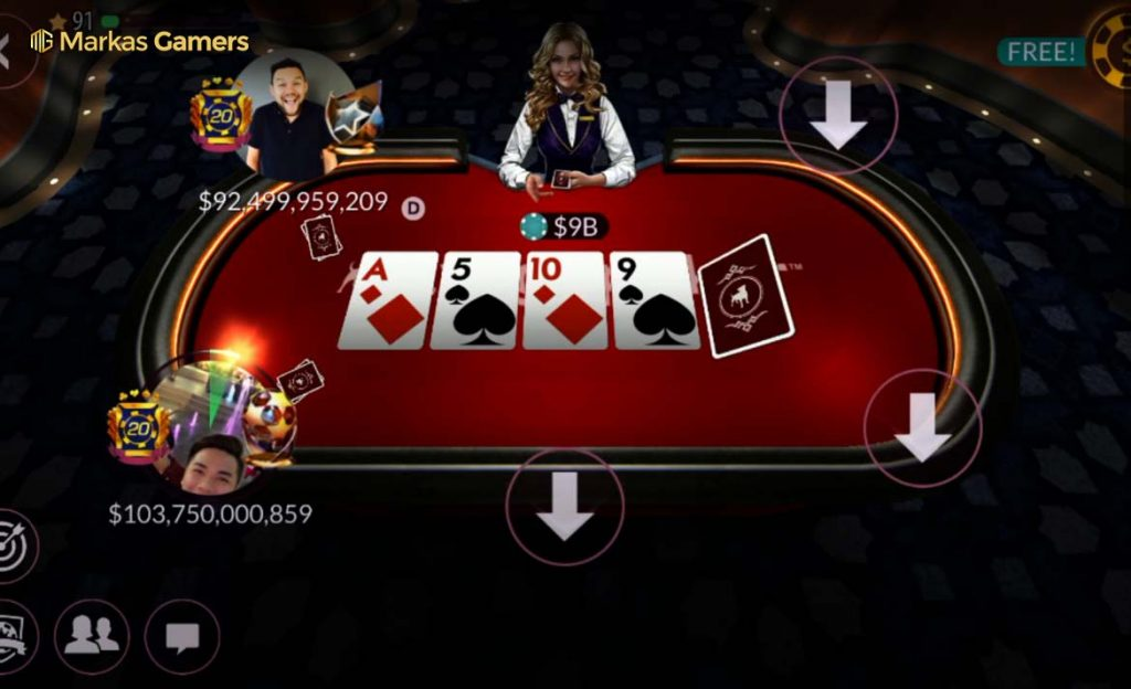 game trik zynga poker