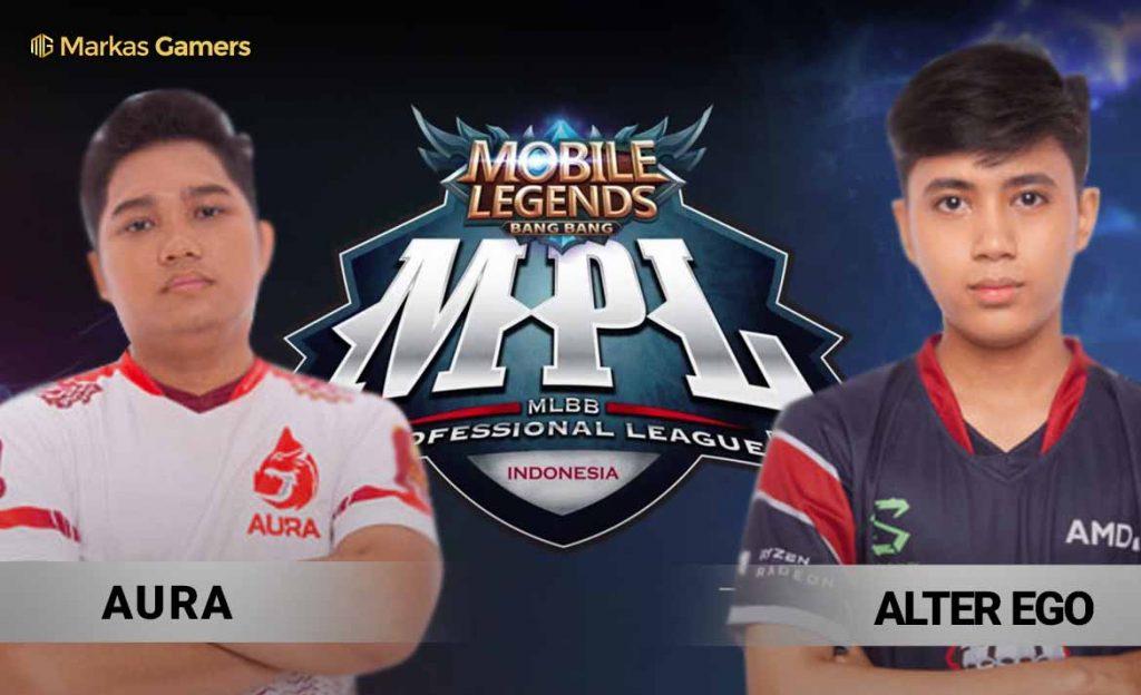 hasil aura vs ae MPL week 6