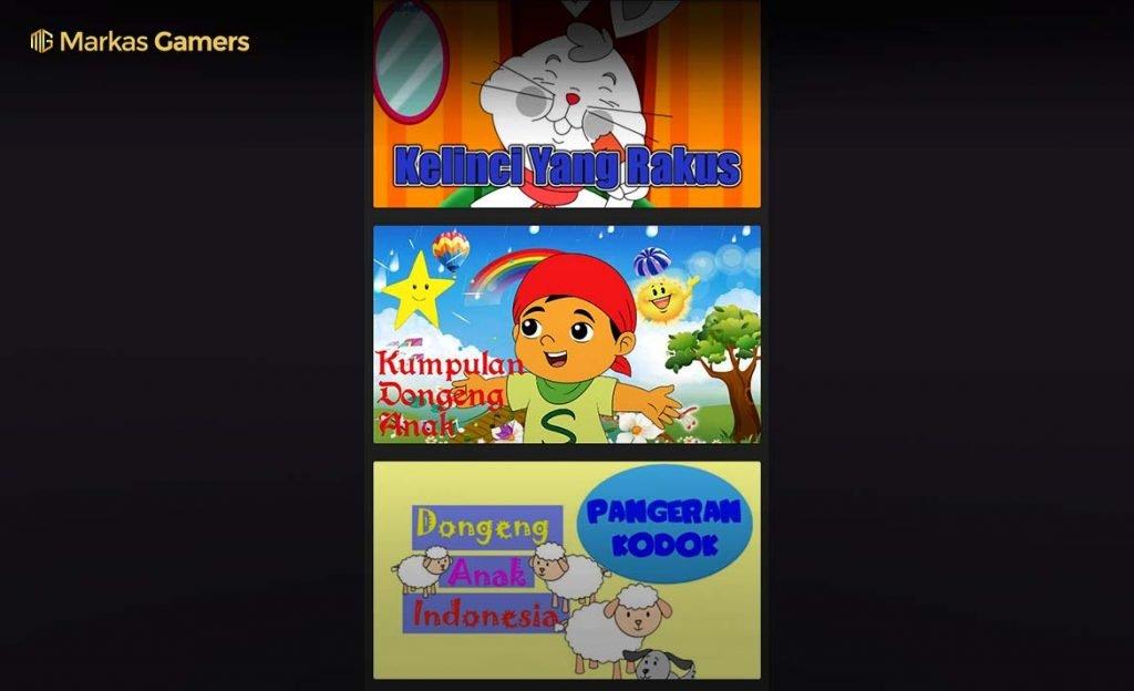 game edukasi kumpulan dongeng
