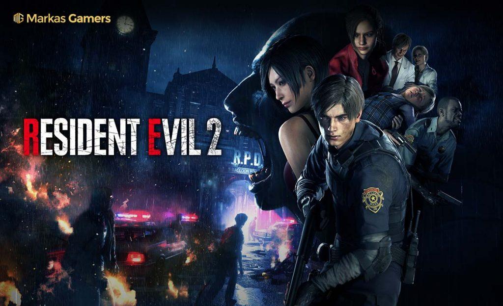 permainan zombie Resident evil 2