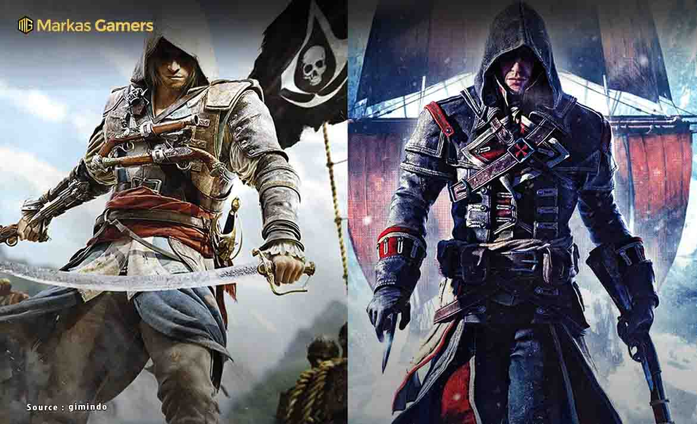 10 Game Assassin S Creed Terbaik Semua Series Game Sukses Besar
