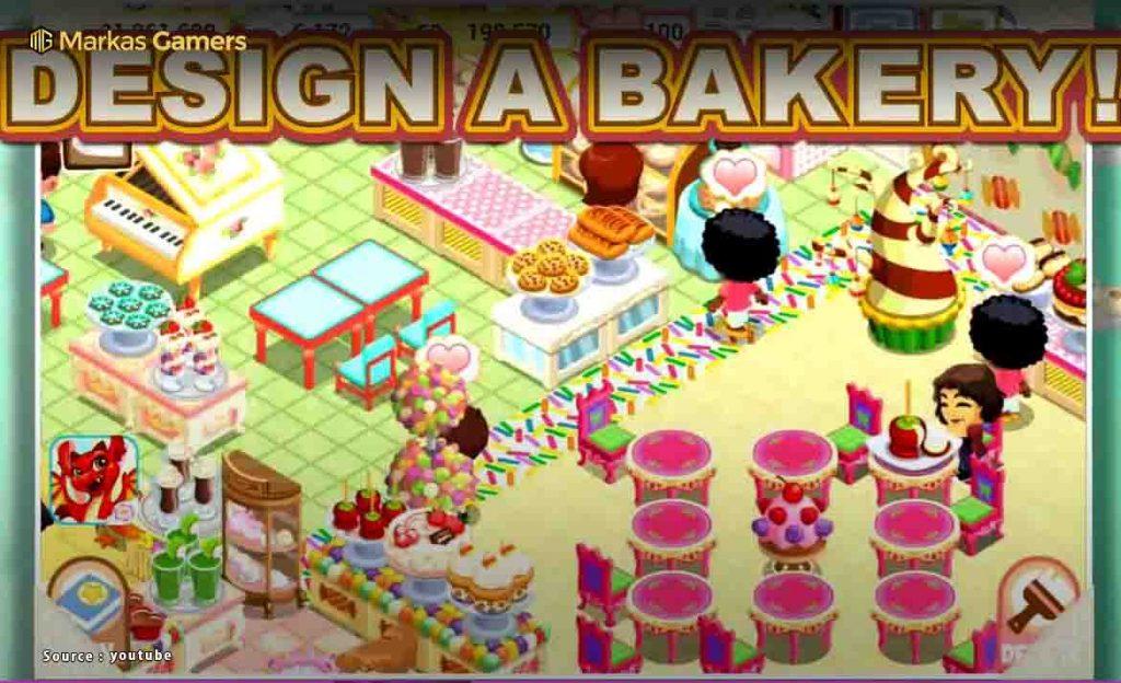 game perempuan membuat kue