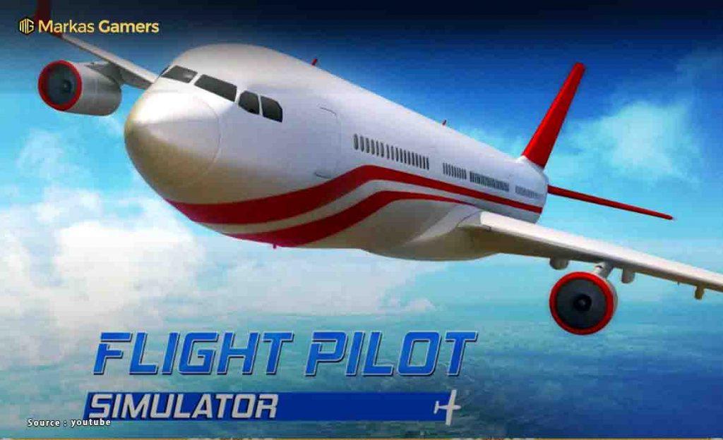 game simulasi flight pilot 3d