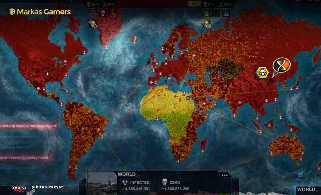 plague inc simulasi virus
