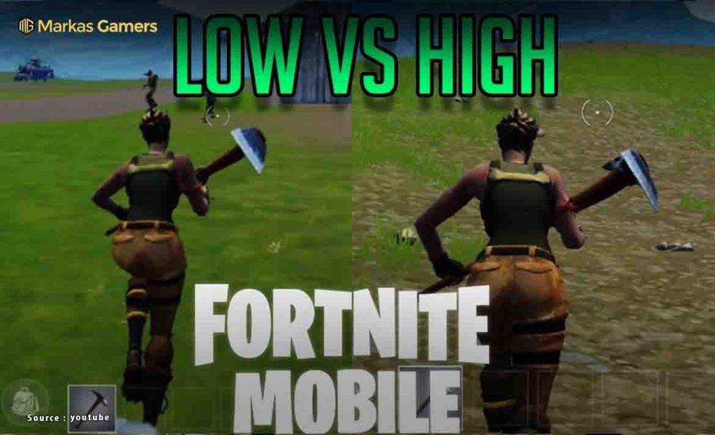 fortnite mobile graphics