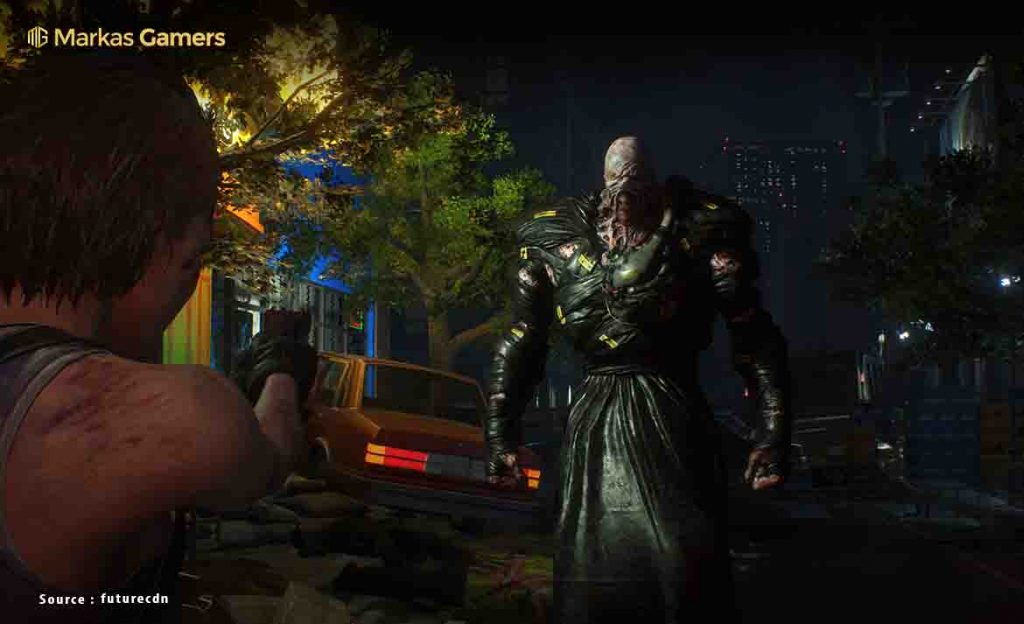 grafik resident evil 3 remake