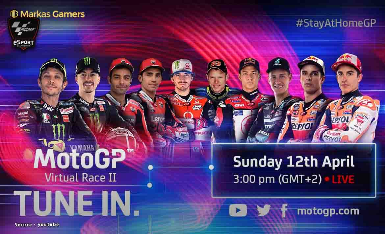 Motogp virtual race 2