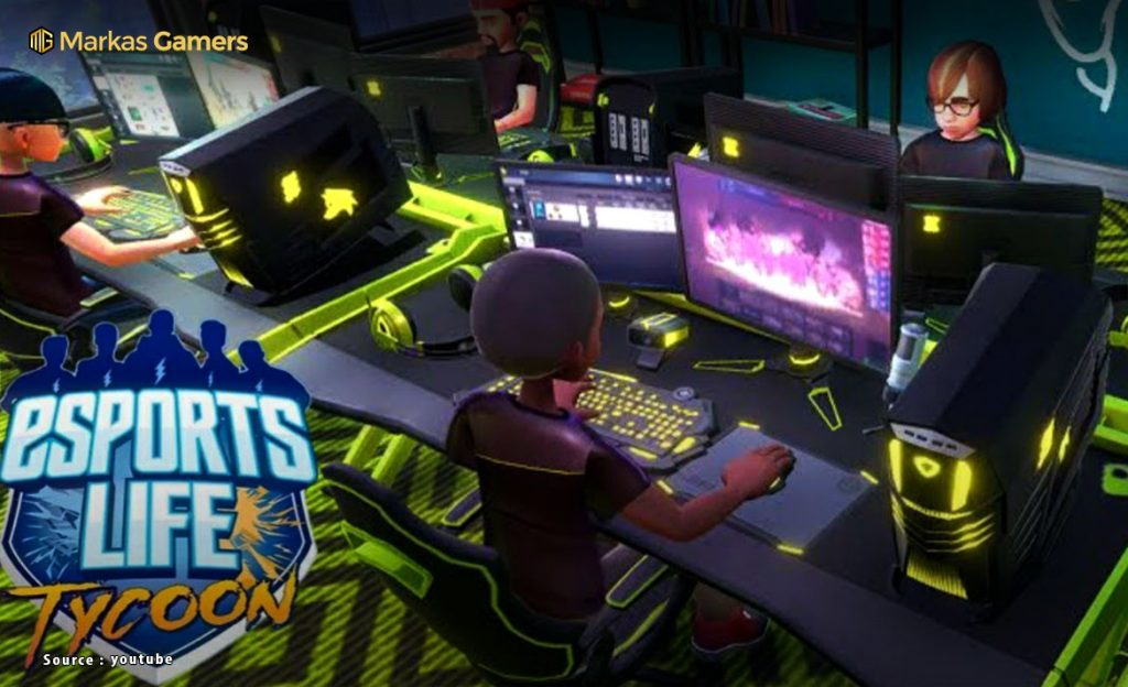 game simulasi kehidupan esports