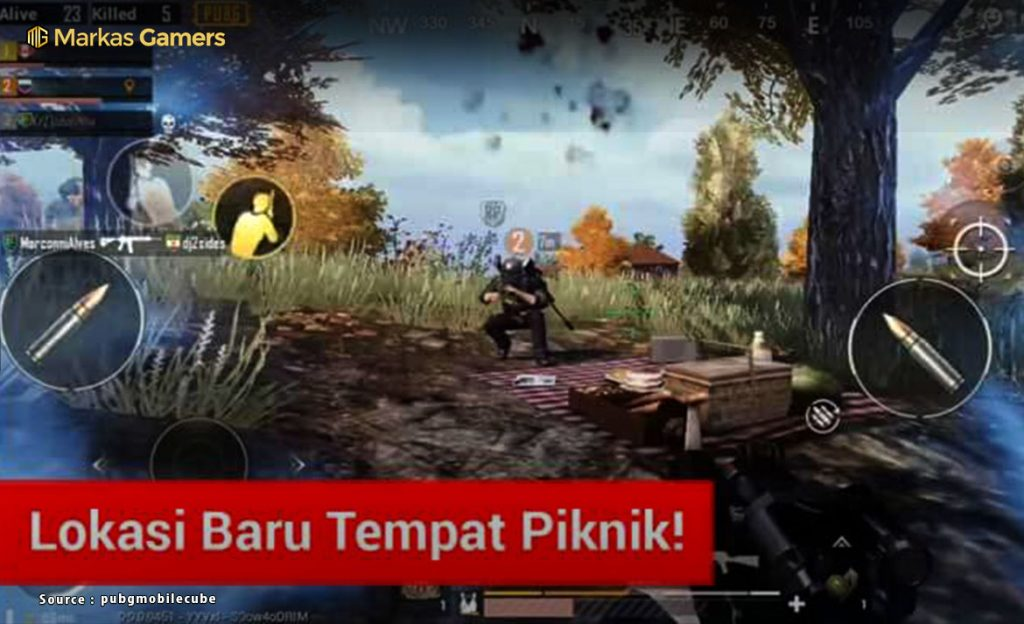 fitur game pubg mobile
