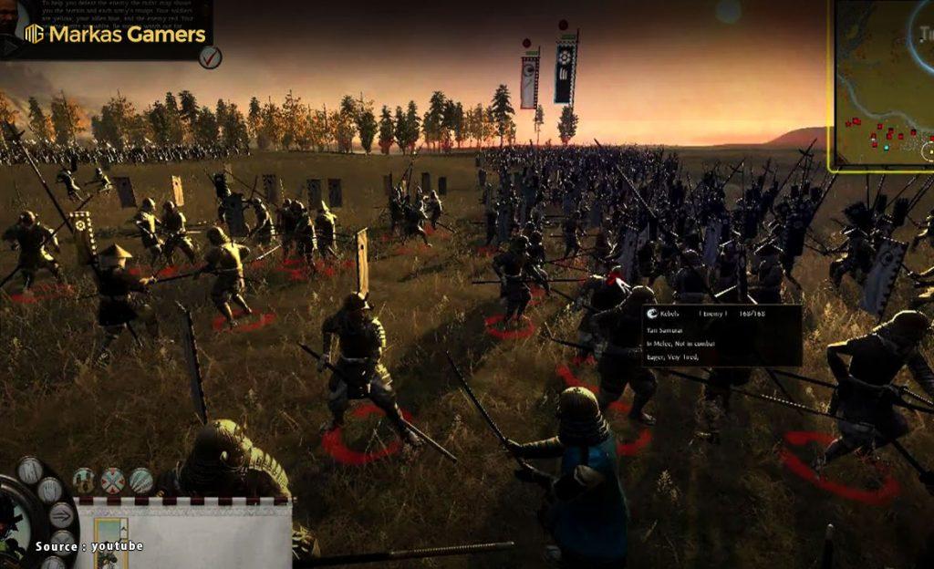 gameplay shogun 2