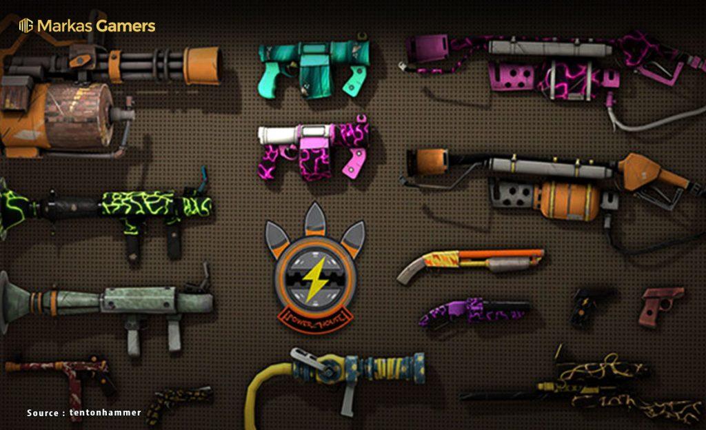 daftar senjata team fortress 2