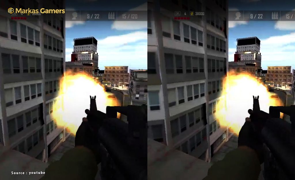 vr game shooting