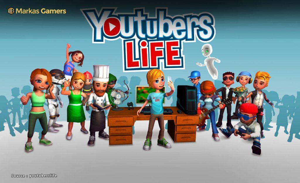 game simulasi kehidupan youtubers
