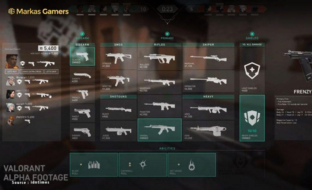 senjata game valorant