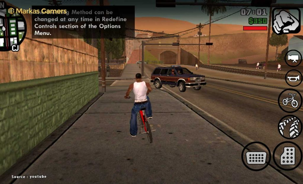 gameplay gta san andreas