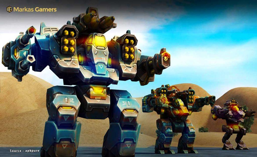 mech robot war 2050