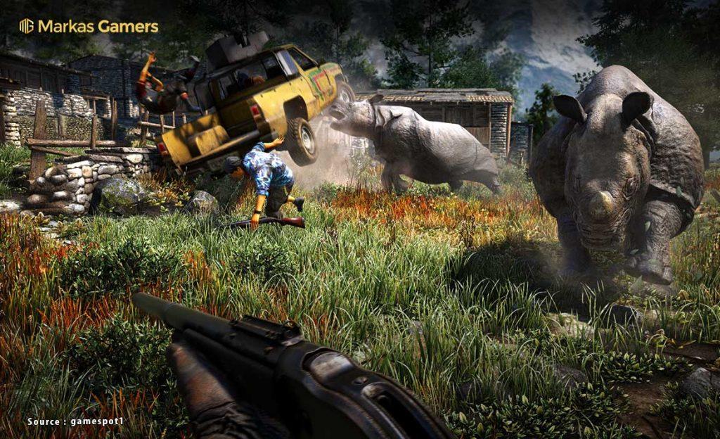 Animals in Far Cry 4