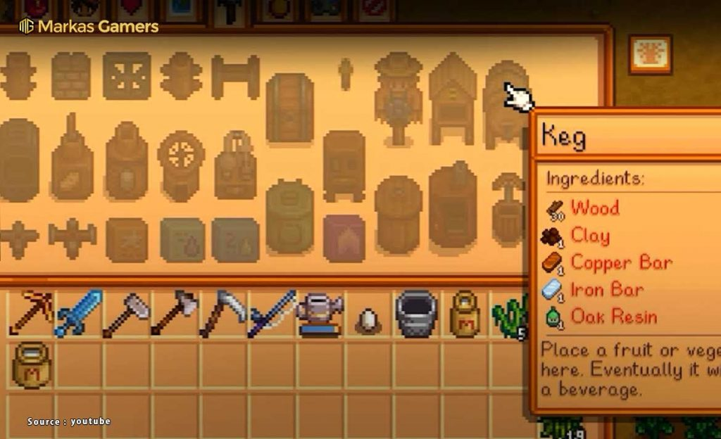crafting item rare