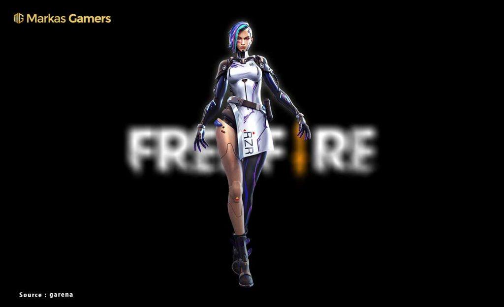 karakter robot free fire