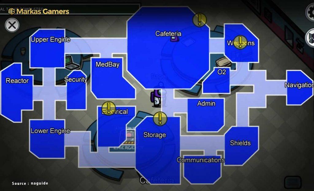 map di among us
