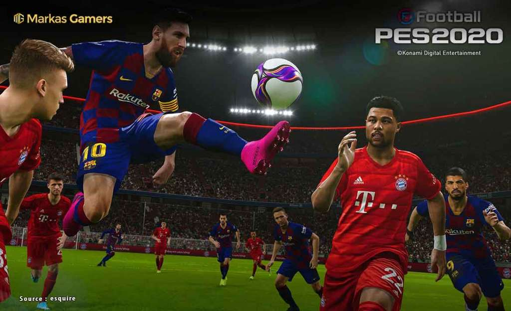 game pes 2020 android