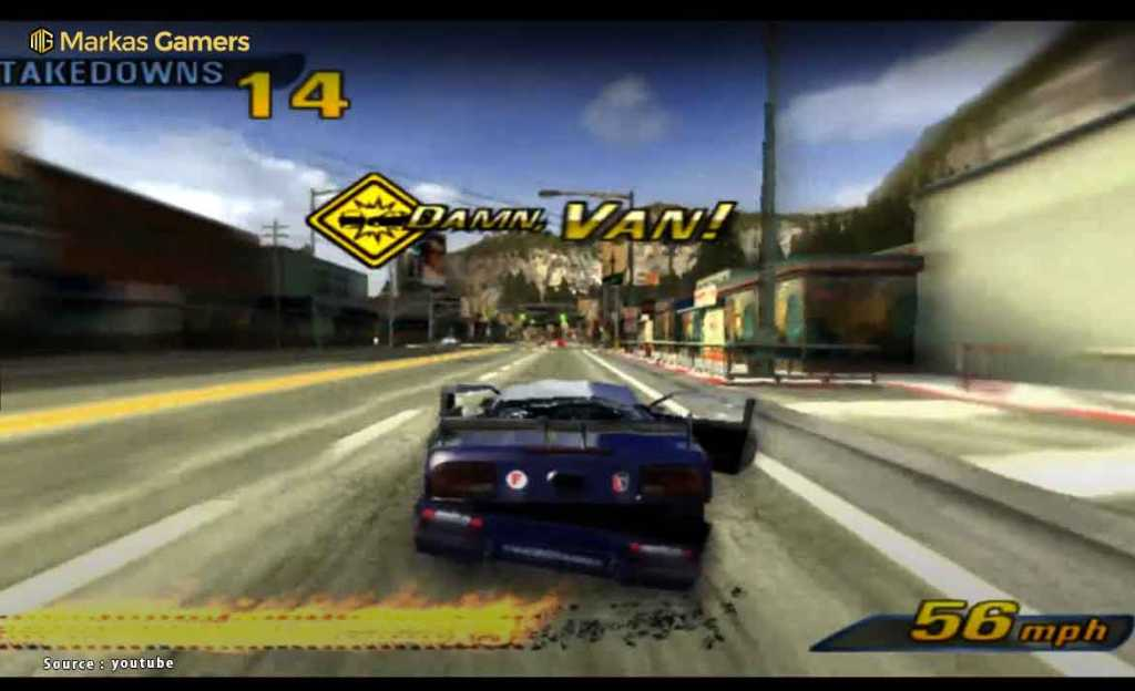 Burnout 3: Takedown (2004)- Game PS 2
