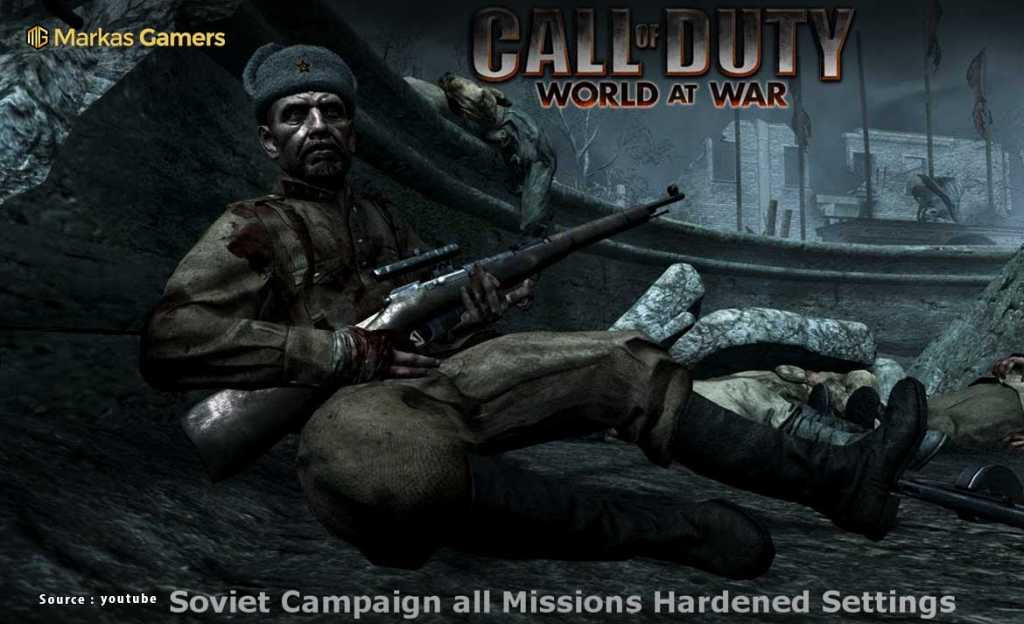 Call of Duty: World at War - Game Sniper
