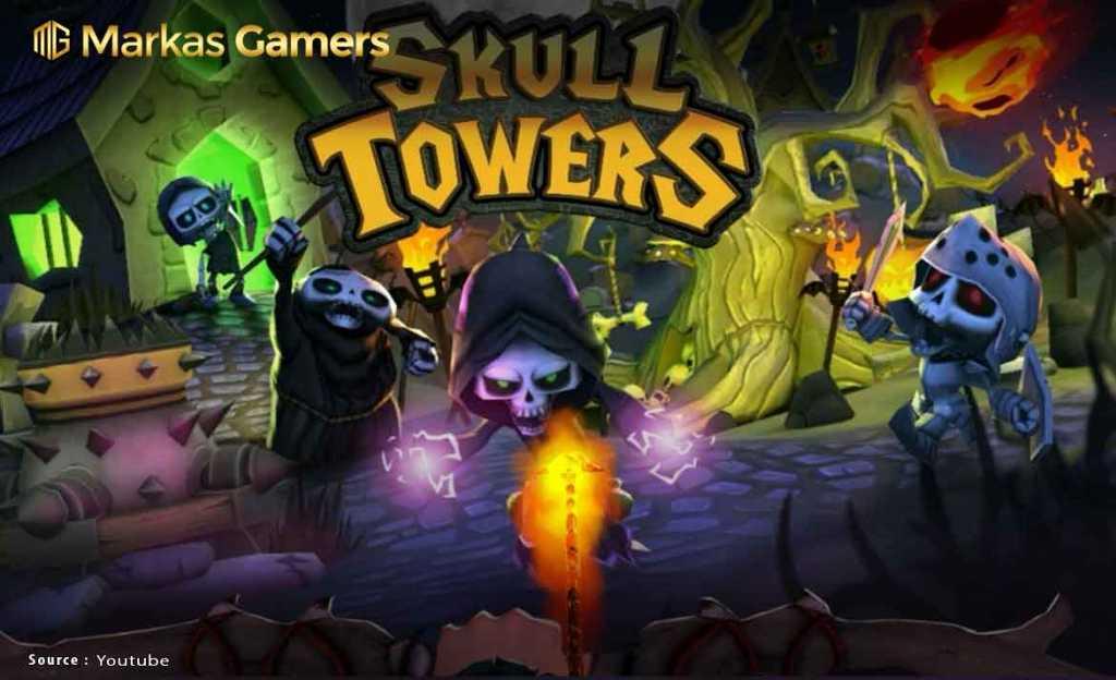Skull Towers - Game offline terbaik