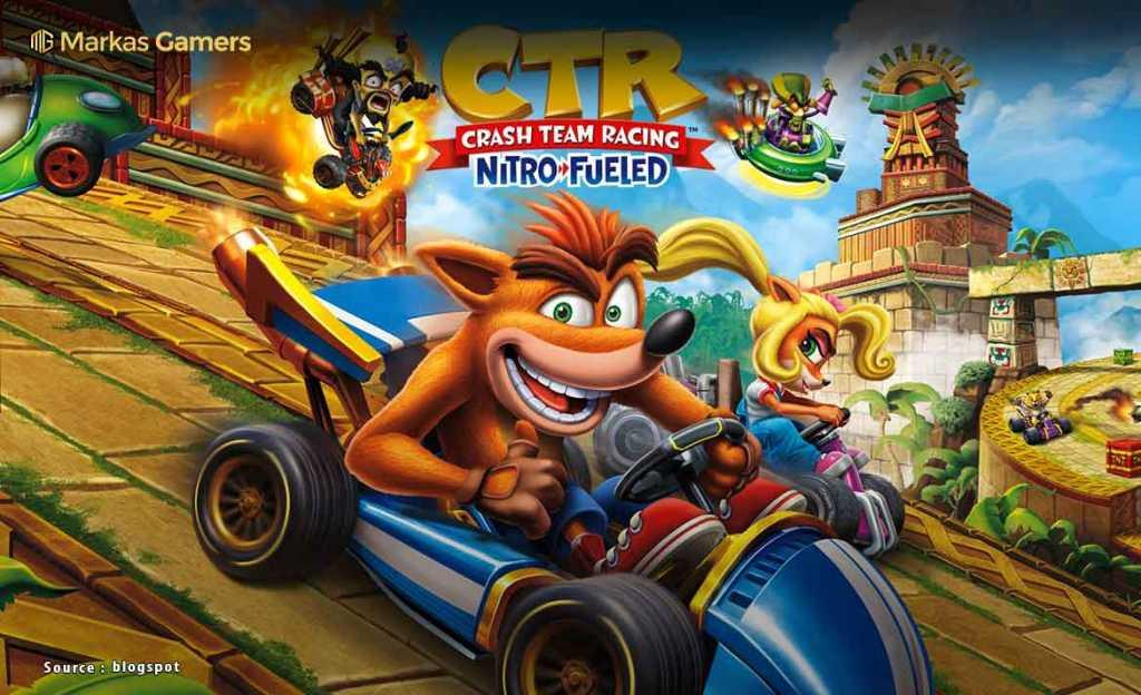 Crash Team Racing: Nitro-Fueled (PS 4)