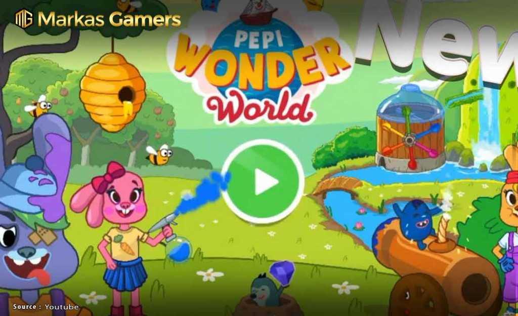 Pepi Wonder World: Island of Magic Life